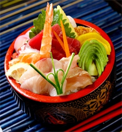 Make Chirashi Sushi