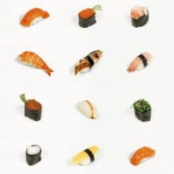 sushi item display