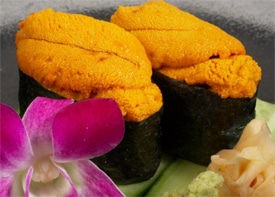Image result for sea urchin sushi