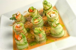cucumber roll 300x199 Low Calorie Sushi Options