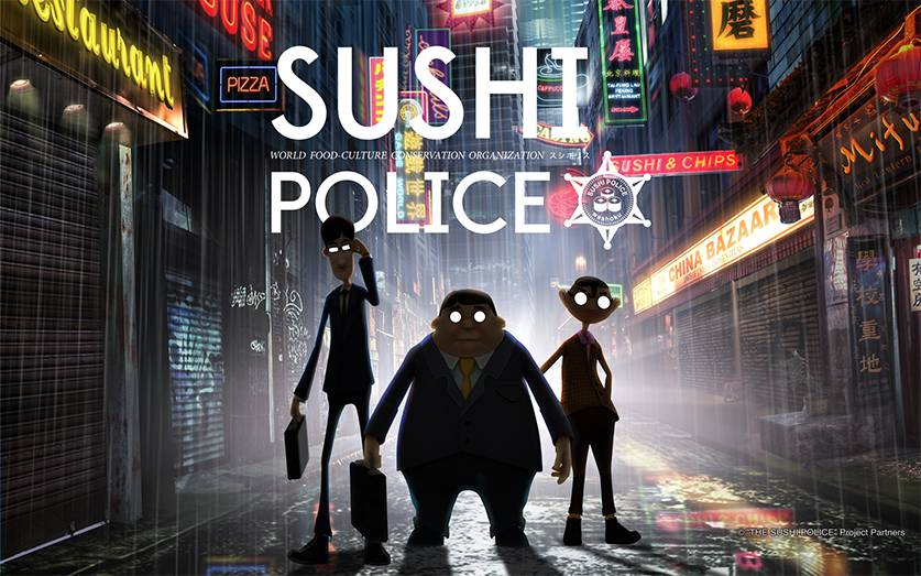 Preserving authentic japanese sushi police